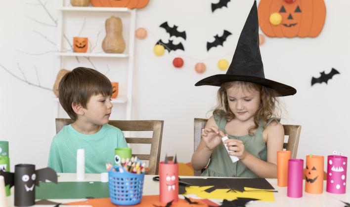 decorar en halloween